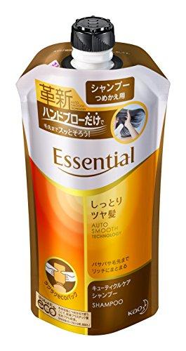 エッセンシャル シャンプー しっとりツヤ髪 つめかえ用 340ml