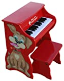 Schoenhut 9258D - 25 Key Dog Piano Pal (Red)
