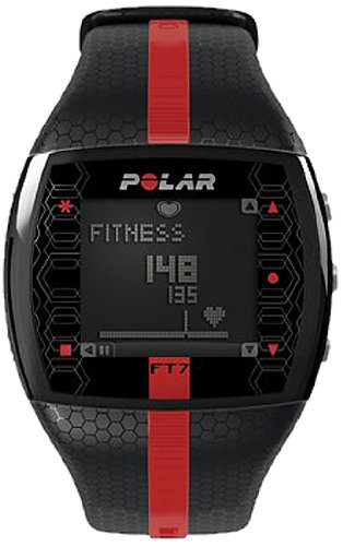 Polar Ft7 Men's Heart Rate Monitor (Black/Red)