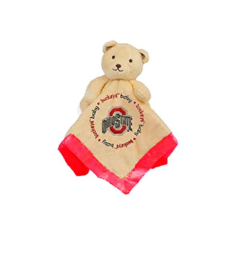 Baby Fanatic Security Bear Blanket, Ohio State University - 1