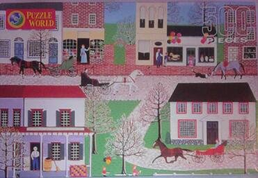 Main Street 500 Piece Puzzle - 1