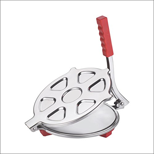 "Stainless Steel Puri Press / Papad Maker / Roti Press / Chapati Press (6.5"" Diameter)"