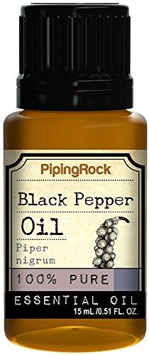 Black Pepper Essential Oil 1/2 oz (15 ml) 100% Pure -Therapeutic Grade