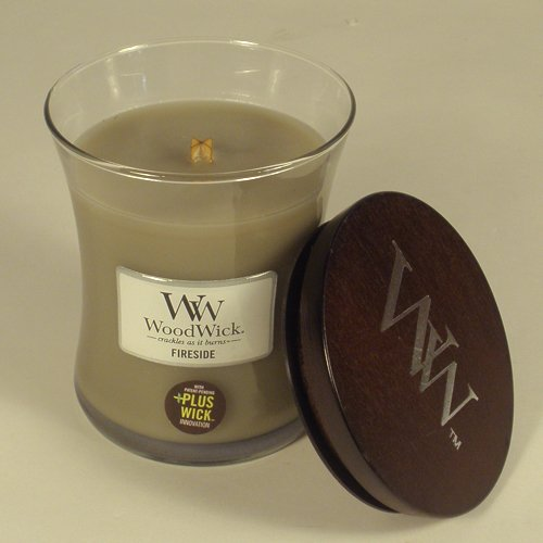 Woodwick Fireside Candle - Med Jar