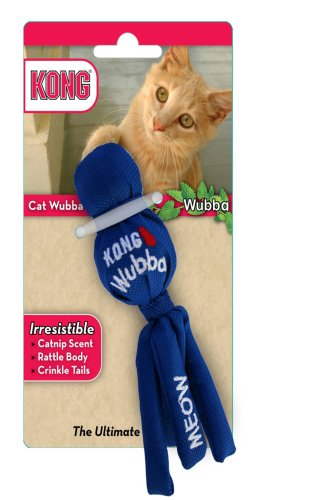 KONG Cat Wubba, Cat Toy (Colors Vary)