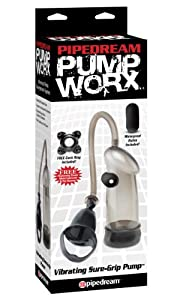 Pipedream Products Pump Worx Vibrating Sure Grip Pump