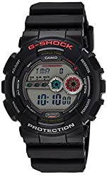 Casio G-Shock Digital Grey Dial Mens Watch - GD-100-1ADR (G309)