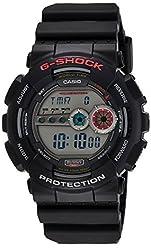 Casio G-Shock Digital Grey Dial Mens Watch - GD-100-1ADR (G309)