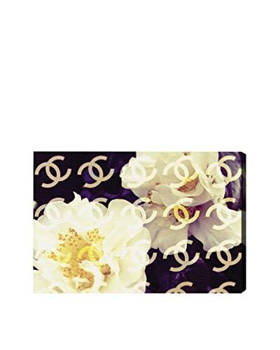 Oliver Gal Coco's Camellia Vanilla Canvas Art
