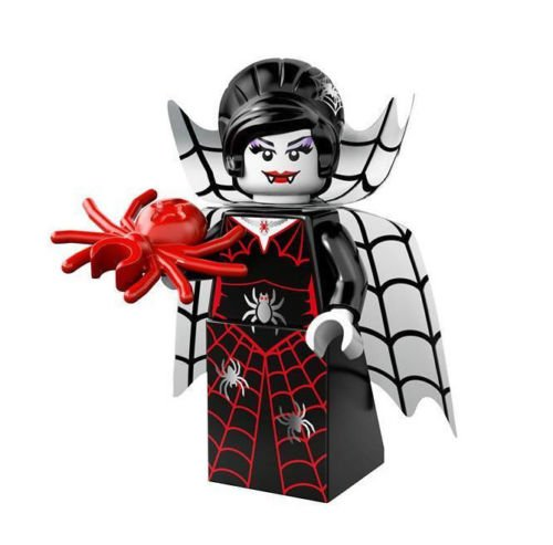 NEW LEGO MINIFIGURE  S SERIES 14 71010 - Spider Lady >>> Halloween Haunted House Decoration Toy