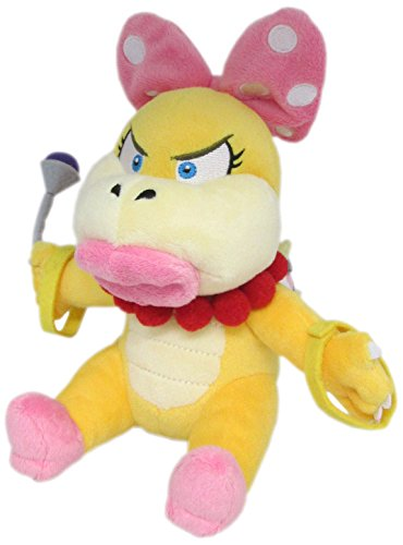 "Little Buddy Super Mario Series Wendy Koopa 7"" Plush - 1"