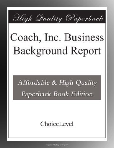 coach-inc-business-background-report