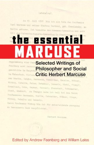 herbert marcuse negations essays in critical theory paradigm