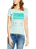 Guess Camiseta Manga Corta Graphic (Verde)