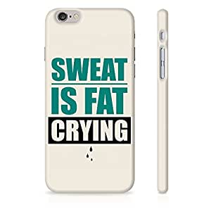 StyleStuffs sweat is fat crying Apple iphone 7 Case