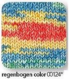 200 gr. Bravo Big Color Fb. 124 regenbogen color, Brandneu, Herbst/Winter 2014/15, Schachenmayr, Strickwolle