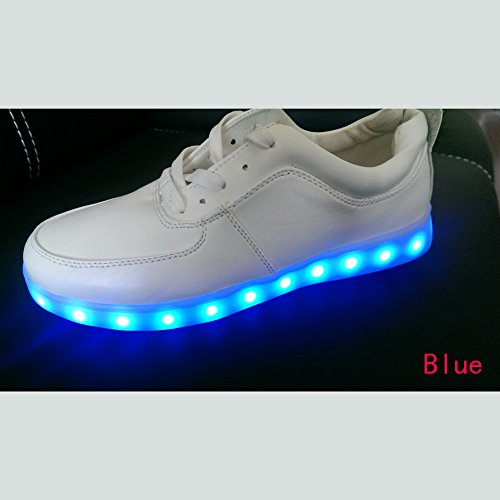 Acever Christmas Gift Led Shoes With Multiple Color Lights Shoes Women'S Led Shoes Led Sneakers Christmas Cosplay (Us85-Women)