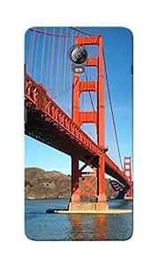 KnapCase Golden Gate Designer 3D Printed Case Cover For Lenovo Vibe P1