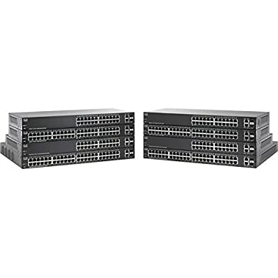 Cisco-SB 50-Port Gigabit PoE Smart Plus Switch (P/N SG220-50P-K9-NA)