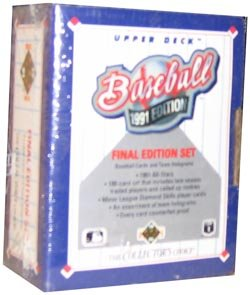 1991 Upper Deck Baseball Final Edition Factory Set