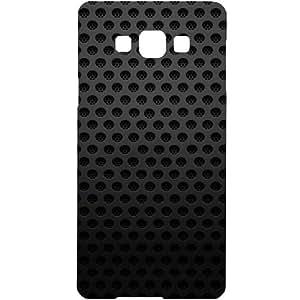 Casotec Black Pattern Design Hard Back Case Cover for Samsung Galaxy Grand Max