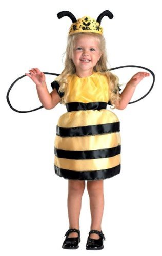 Girls and Toddler Queen Bee Costume - Toddler