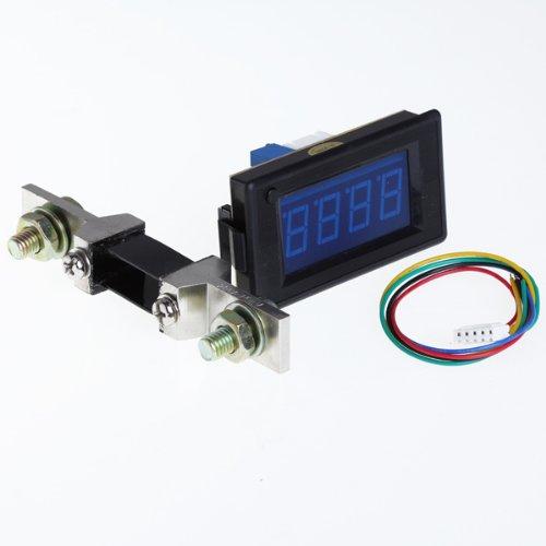 Volt Meter/Dc Digital Led Amp Volt Meter + Shunt /200V 200A /Blue