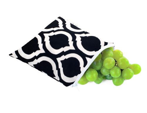 Itzy Ritzy Snack Happens Reusable Snack and Everything Bag Moroccan Nights