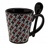 Elgate Black And Assorted Colours 10 Cm I Love London Mug Spoon