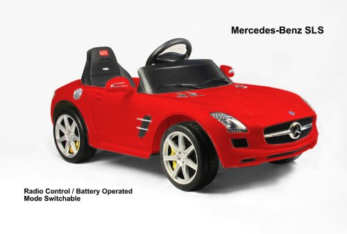Battery operated cars parental remote control