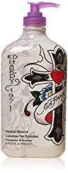 Ed Hardy Cross My Heart Indoor Tanning Lotion Accelerator Bronzer Dark Tan Bed