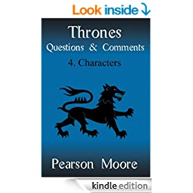 Thrones Questions and Comments: Characters