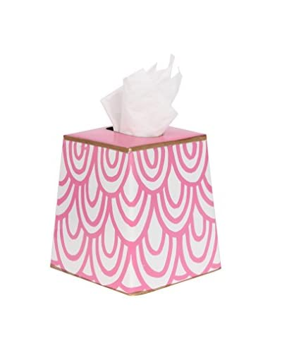 Jayes Scales Tissue Box Cover, Pink
