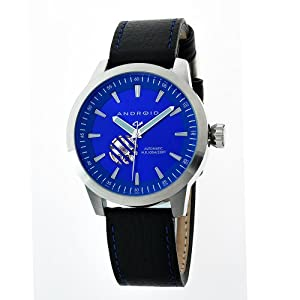 Android Men's AD477BBU Antiforce 3 Open Heart Automatic Blue Watch
