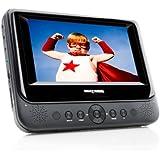 "Next Base NB48-A 7"" Portable DVD Player with Car Kit - Black"