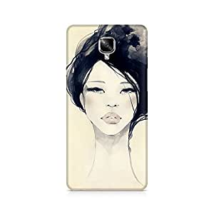 Mobicture Girl Abstract Premium Designer Mobile Back Case Cover For OnePlus Three back cover,OnePlus Three back cover 3d,OnePlus Three back cover printed,OnePlus Three back case,OnePlus Three back case cover,OnePlus Three cover,OnePlus Three covers and cases