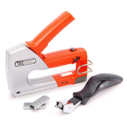 Tacwise Z1-53 Heavy Duty Staple Gun Kit including Staples and Staple Remover