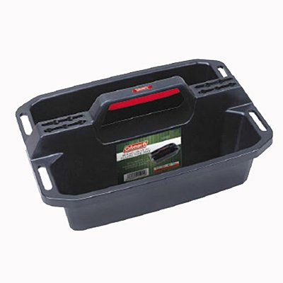 Coleman 19.5 Plastic Tool Tote Tray - Smart and Easy to carry Tool Tote has an Extra Deep Tray and Separate Slots for all the Tools that never seem to find their place. The smart Ergonomic Handle make