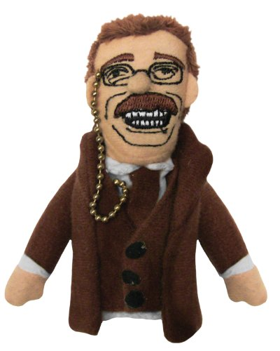 Theodore Teddy Roosevelt Finger Puppet and Refrigerator Magnet - By The Unemployed Philosophers Guild