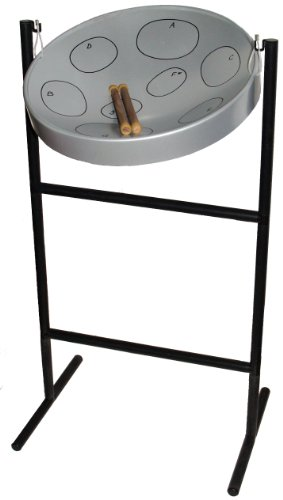 Jumbie Jam Steel Drum Musical Instrument, Steel Finish (Steel Pan Case compare prices)