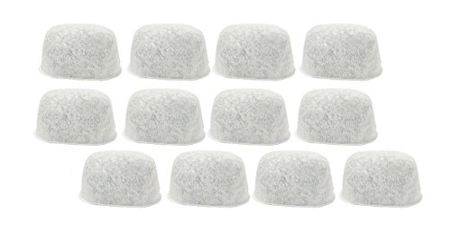 12 Pack Breville Replacement Charcoal Water Filters Bwf100 White (Breville Coffee Maker Bes900xl compare prices)
