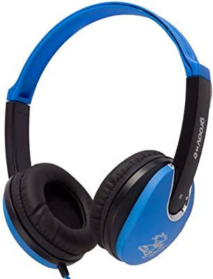 Groov-e GV590PBB Kids DJ Style Headphone - Blue
