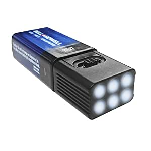 microbrite led flashlight by bell and howell with free 9 volt battery. Black Bedroom Furniture Sets. Home Design Ideas