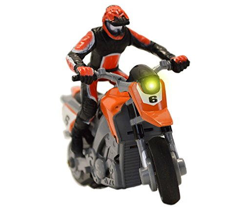 RC Motorrad - High Speed Stunt Show Motorrad 1:43 (Orange)