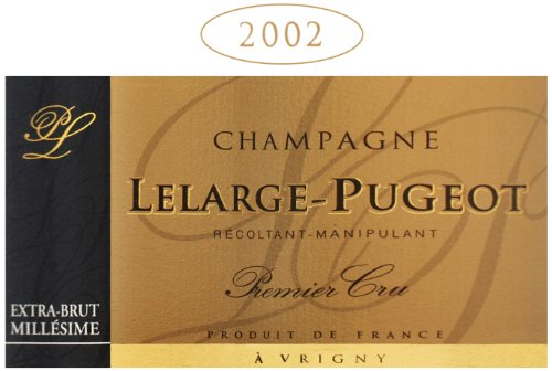 Lelarge-Pugeot 2002  Extra Brut Millesime, Champagne 750 mL