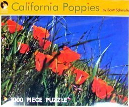 1000pc. California Poppies Puzzle
