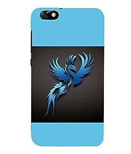 printtech Phoenix Simple Back Case Cover for Huawei Honor 4X::Huawei Glory Play 4X