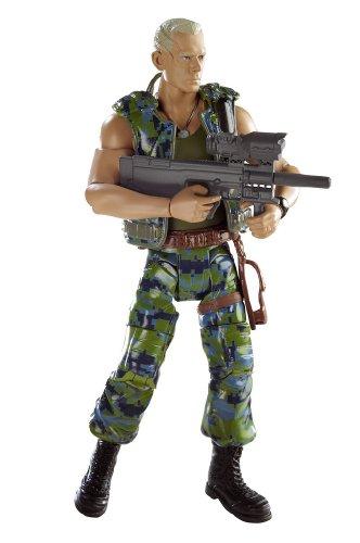 Buy Low Price Mattel Avatar Movie Masters Colonel Miles Quatrich Figure (B002MUAPB0)