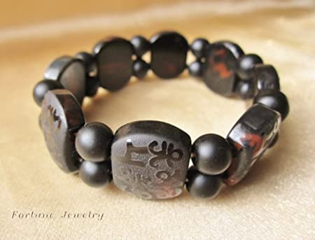 Tibetan protection bracelet natural agate beads oval shape for Zen culture jewelry reviews
