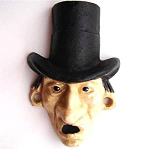 Top Hat Man Bottle Opener Cast Iron Wall Mount Mr. Dry Reproduction Beer Soda Pop Top Remover